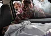 Im Juni 2015 wurdeAftab Bahadur in Lahore wegen Mordes exekutiert. Zum Zeitpunkt der Straftat im Jahr 1992 war er 15-jährig. (Bild: Mohsin Raza / Reuters)