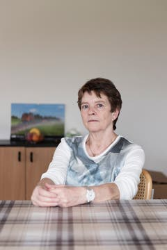 Pia Marolf's husband died of cancer about three months ago. (Image: Annick Ramp / NZZ)