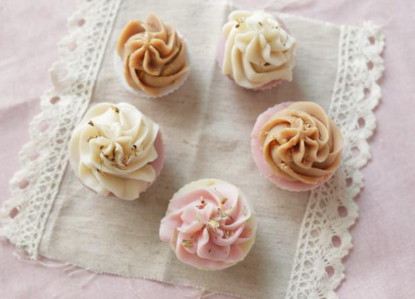 杯子蛋糕皂⋈ 不用出門也可以去賞花
