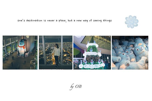  大阪 京阪奈自由行 – HARUKAS 300展望台 日本第一高樓 無死角壯觀夜景