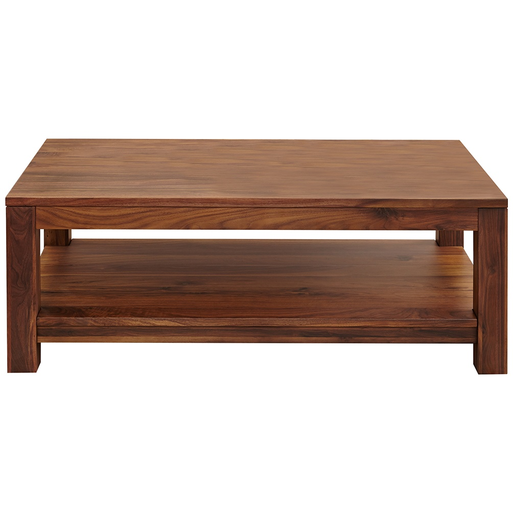 fernhurst solid walnut open coffee table
