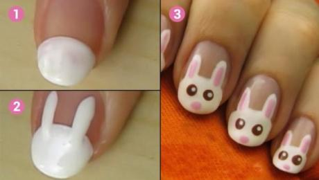 Un Nail Art Chat Très Facile à Faire