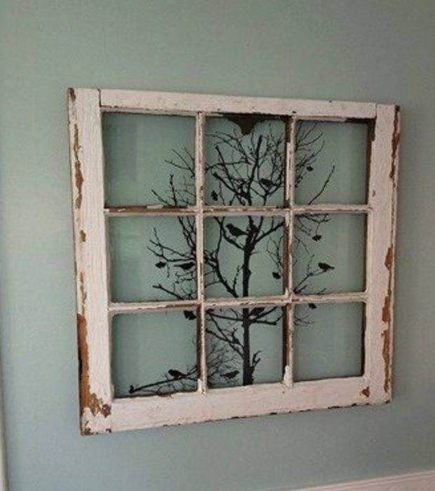 20 gute Ideen: Was man mit alten Fenstern so alles machen kann