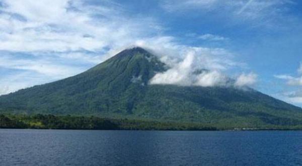 Gunung Gamkonora, Halmahera Barat (Foto: dok. Okezone)