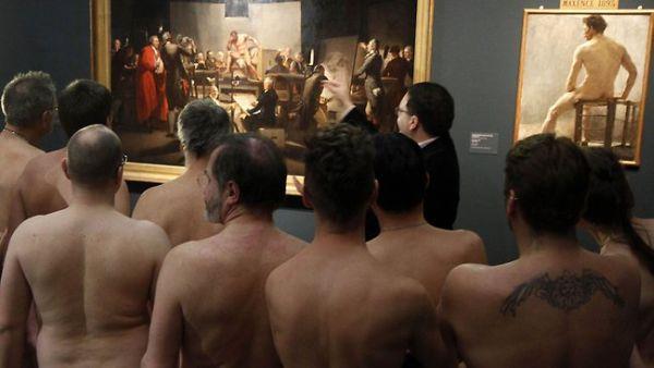 Pengunjung di Museum Leopold, Wina (Foto: news)