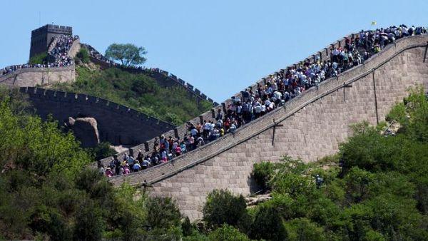 Tembok Besar China (Foto: USAToday)
