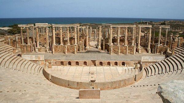 Leptis Magna, Libya (Foto: wikimedia)