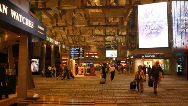 Bandara Internasional Changi, Singapura (Foto: Mutya/Okezone)