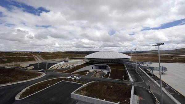 Bandara Daocheng, China. Bandara tertinggi di dunia (Foto: SMH)