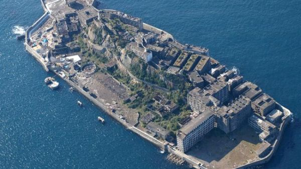 Pulau Hashima, Jepang (Foto: News)