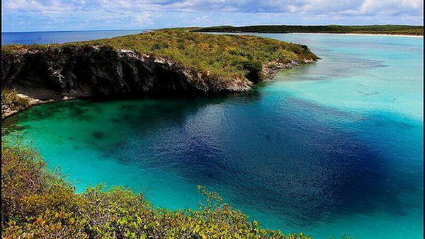 Dean's Blue Hole, Bahama (Foto: the-bahamas)