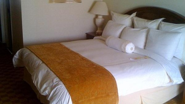 Kamar hotel Marriot tempat Ganjian menginap selama 9 tahun (Foto: News)