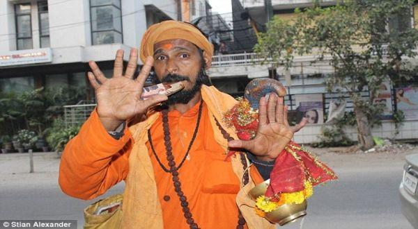 Vijay Singh (Foto: Daily Mail)