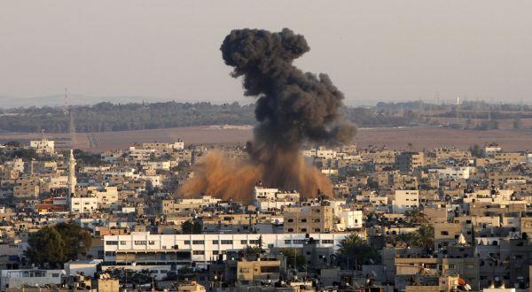 Wilayah Gaza yang diserang Israel (Foto: Reuters)