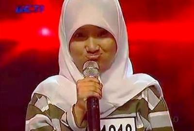 Fatin Shidqia Lubis saat audisi X Factor Indonesia (Foto: RCTI)