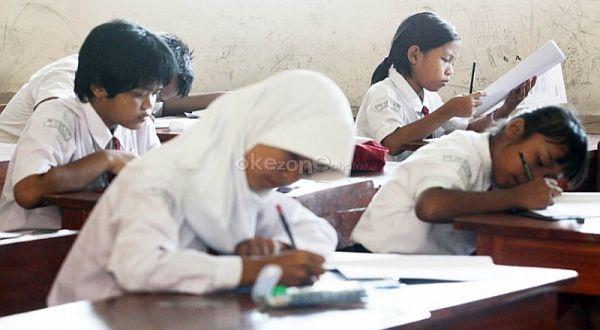 Ilustrasi siswa belajar di kelas (Foto : Heru Haryono/Okezone)