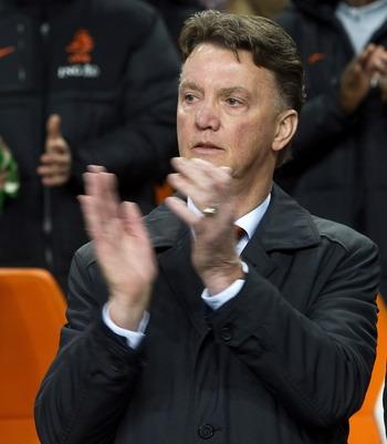 Luois van Gaal - pelatih tim nasional Belanda (Foto: reuters)