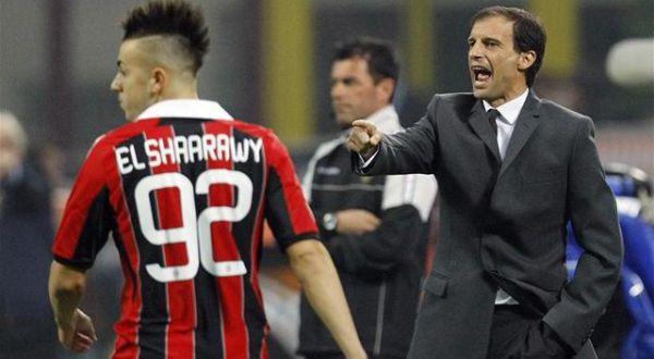 Stephan El Sharaawy dan Massimiliano Allegri. (Foto: Ist)