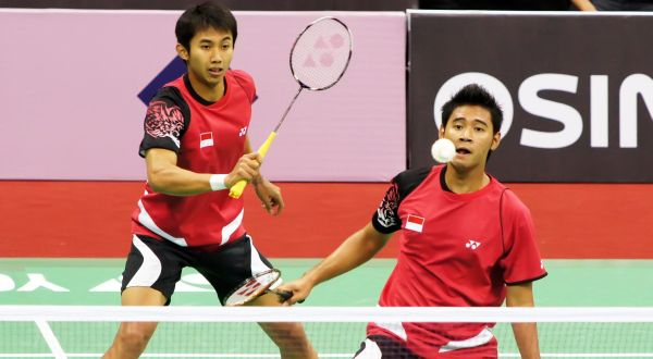 Angga/Ryan melaju ke semifinal. (Foto: Reuters)
