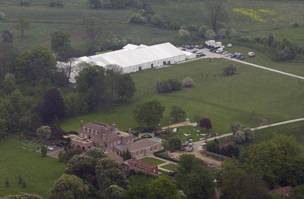 Istana Beckingham yang dijual seharga Rp222 miliar (Foto: Ist.)