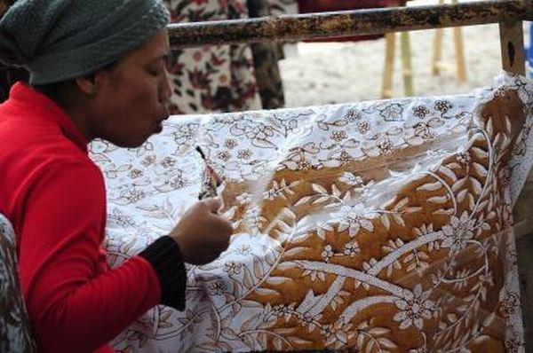 Motif Batik Tulis Batangan