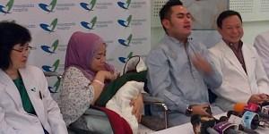 Panik Lihat Istri Melahirkan, Suara Nassar Hilang