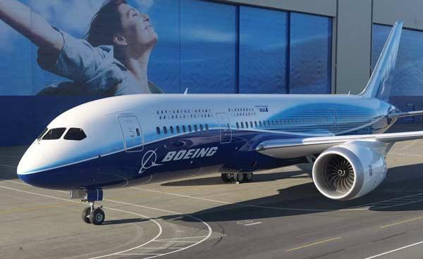 Boeing 787 Dreamliner. (Foto: Dailytech)