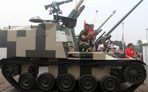 Ke Mana Anggaran Pertahanan Indonesia Mengalir?