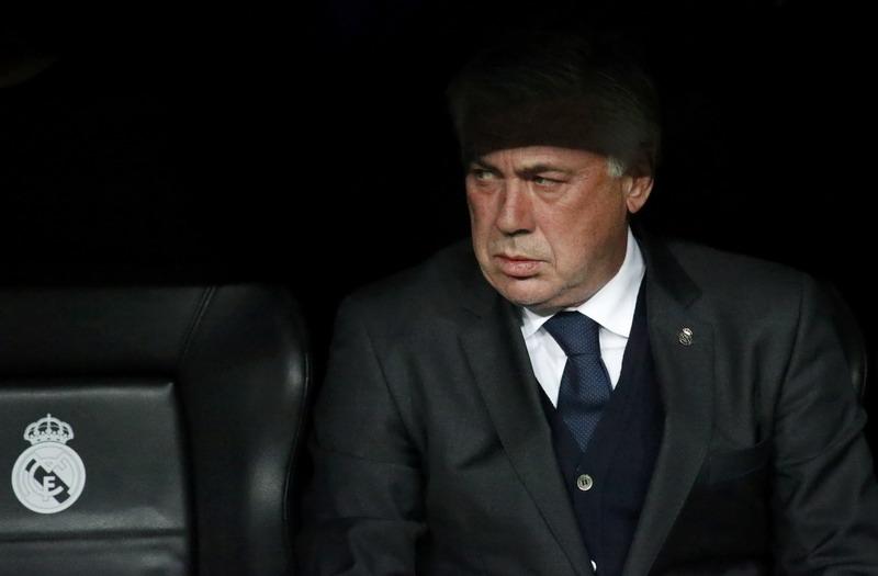 Buntut ejekan Carlo Ancelott ke wasit (Foto: Reuters)