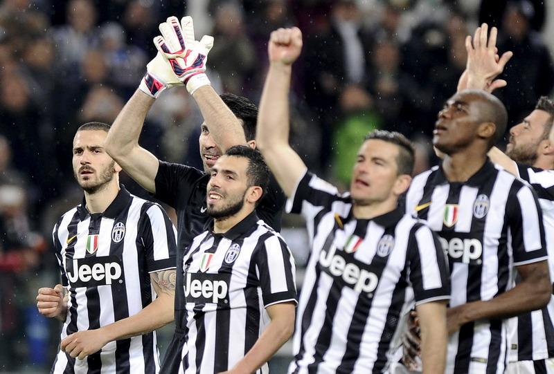 Dengan bermain cantik, Juventus sudah mematahkan anggapan orang terkait Serie A. (Foto: Reuters)