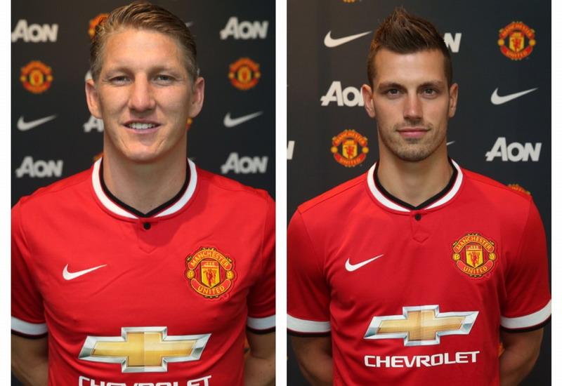 Schweinsteiger dan Schneiderlin resmi jadi milik Manchester United (Foto: manutd.com)