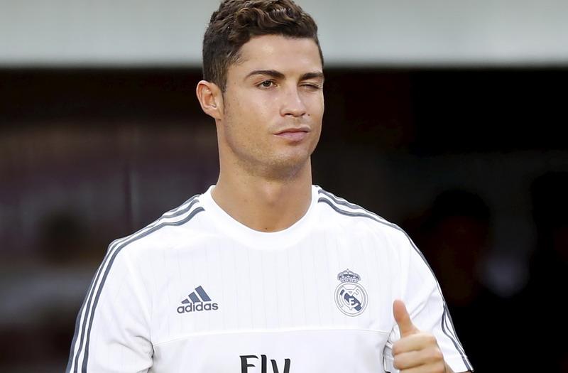 Cristiano Ronaldo tetap membuktikan kualitasnya sebagai pencetak gol ulung, meskipun kurang nurut saat latihan (Foto: Tyrone Siu/Reuters)