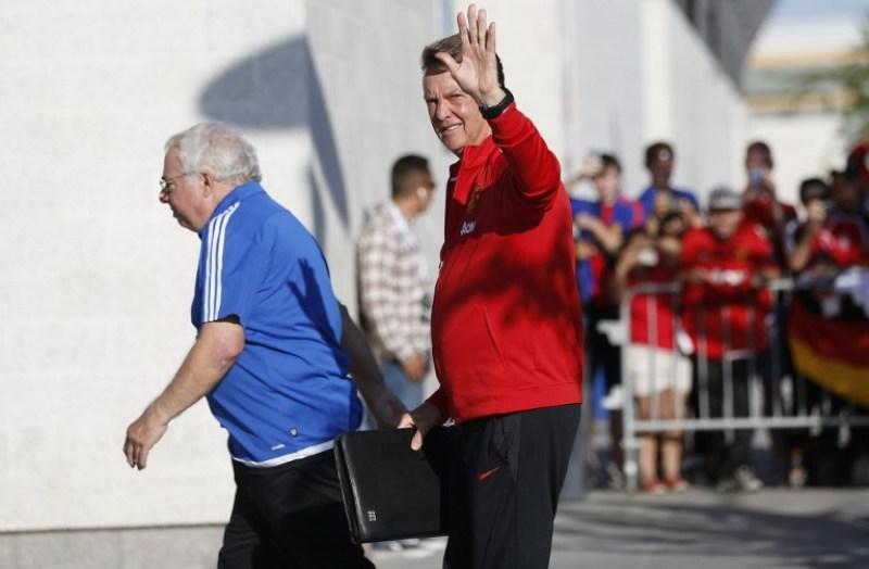 United bakal menjadi klub terakhri Van Gaal (Foto: AFP)