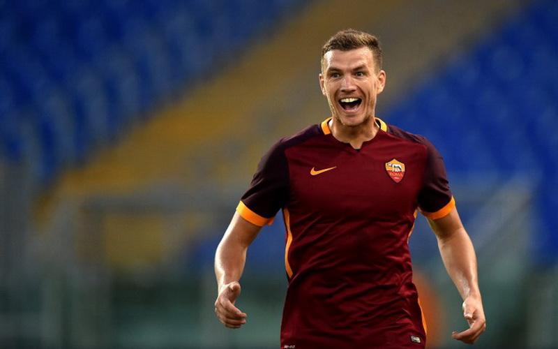 Garcia mengomentari debut Dzeko dan Salah yang terjadi di laga kontra Hellas Verona. (Foto: AFP)