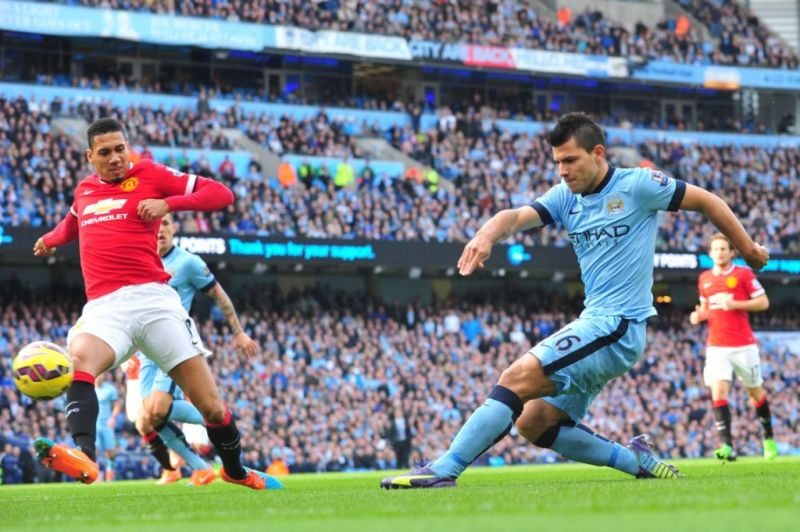 Derby Manchester (Foto: AFP/Paul Ellis)