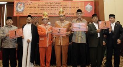 Ilustrasi penarikan nomor urut pilgub Aceh (Foto: okezone/Salman M)