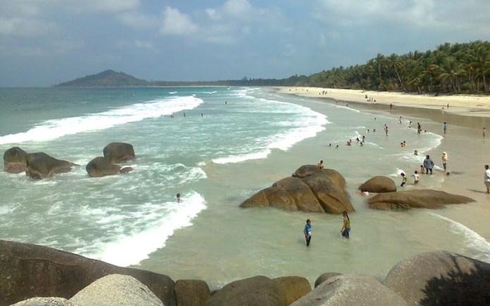 Aih, Cantiknya Pantai Siangau di Bangka Barat : Okezone ...