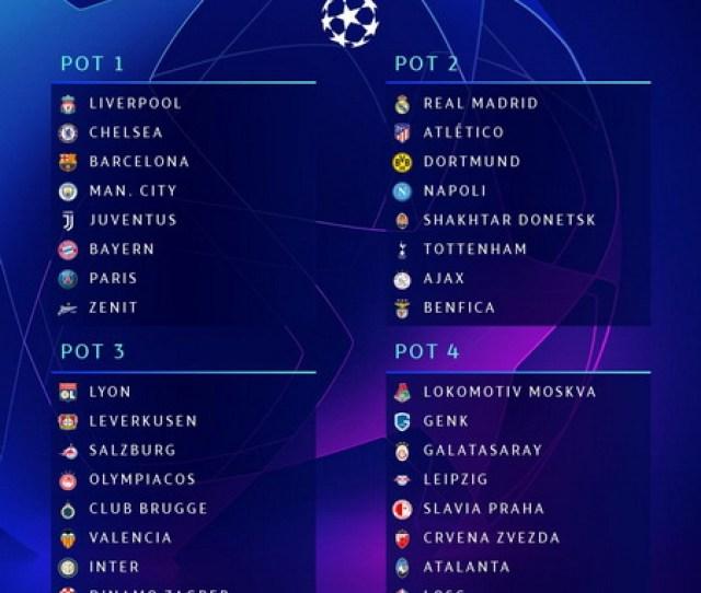 Jadwal Drawing Fase Grup Liga Champions   Okezone Bola