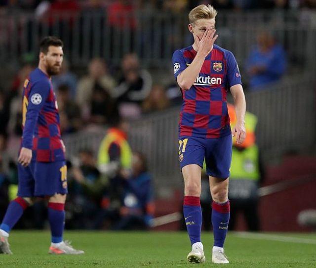 De Jong Menyesal Merumput Di Liga Spanyol Okezone Bola