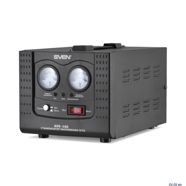 Стабилизатор напряжения SVEN AVR-500 — купить по лучшей ...