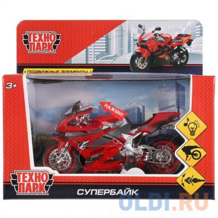 Мотоцикл ТЕХНОПАРК Супербайк асорти ZY025296-R — купить по ...