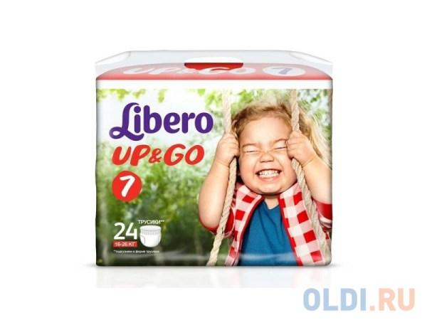 Трусики Libero Up & Go 7 (16-26 кг) 24 шт. — купить по ...