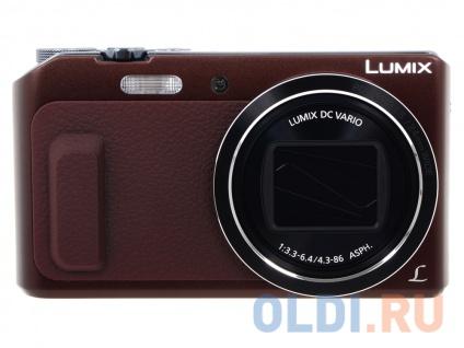 Фотоаппарат Panasonic DMC-TZ57EE-T Brown — купить по ...