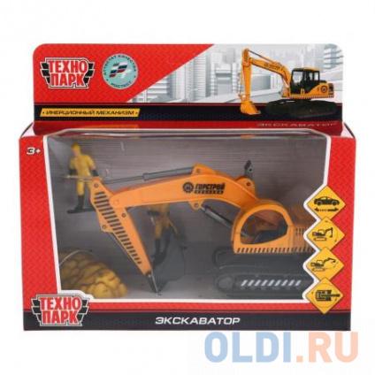 Экскаватор Технопарк ЭКСКАВАТОР 16 см оранжевый 921374-R ...