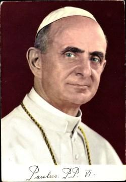 sveti Janez Krstnik Montini - papež Pavel VI.