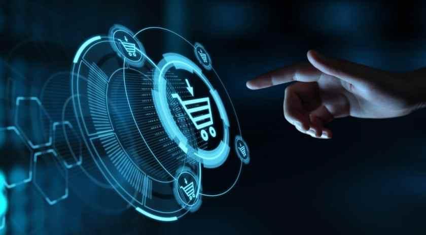 e-commerce digital illustration