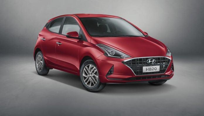 Nova geração do HB20 — Foto: Divulgação/Hyundai