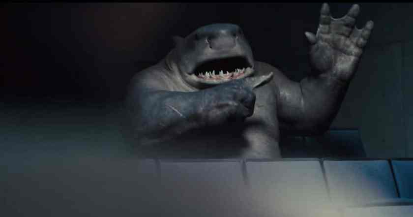 Sylvester Stallone voices the King Shark in Suicide Squad. Image: Warner Bros/DC Comics