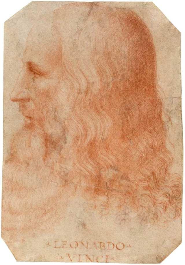 Retrato de Leonardo Da Vinci atribuído à Francesco Melzi