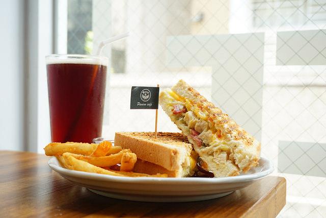 """【台南中西美食】Panino Cafe'帕里諾  *♥帕尼尼專賣""""台南火車站""""高CP值早午餐"""